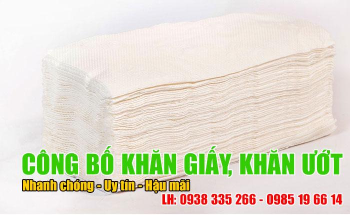 Công bố hợp quy khăn giấy và giấy vệ sinh theo thông tư 33/2016/TT-BCT (Ảnh VinaUcare)