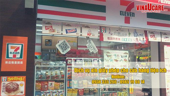 Tư vấn thủ tục pháp lý để kinh doanh siêu thị mini nhanh chóng (Ảnh vinaUcare)
