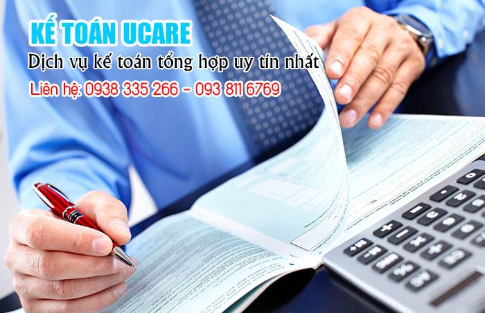 Dịch vụ kế toán thuế doanh nghiệp, công ty trọn gói chất lượng giá rẻ (Ảnh vinaUcare)