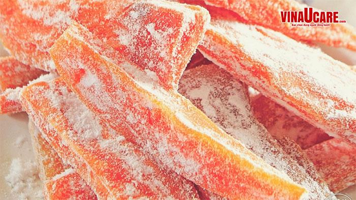 Hướng dẫn công bố chất lượng sản phẩm mứt trái cây