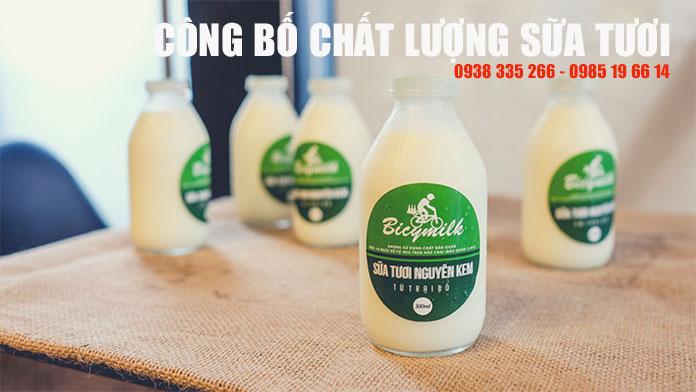 Thủ tục công bố tiêu chuẩn chất lượng sữa bò tươi tiệt trùng (Ảnh VinaUCare)