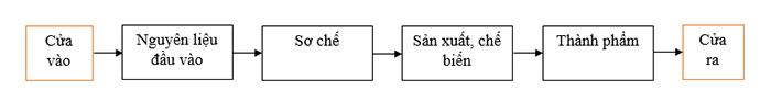 Quy tắc 1 chiều trong sản xuất, chế biến thực phẩm (Ảnh VinaUcare)