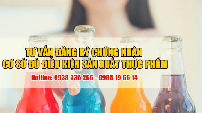 Xin vệ sinh cơ sở sản xuất các loại nước giải khát đóng chai (Ảnh VinaUCare)