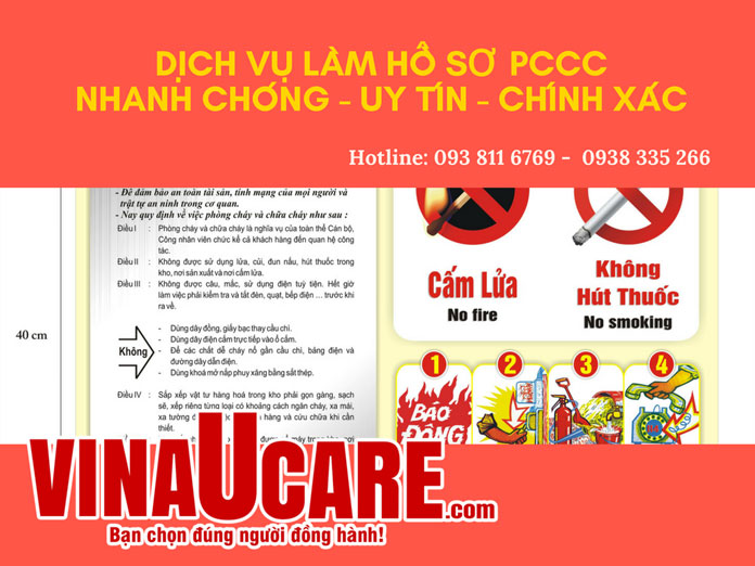 Hồ sơ quản lý PCCC tại cơ sở
