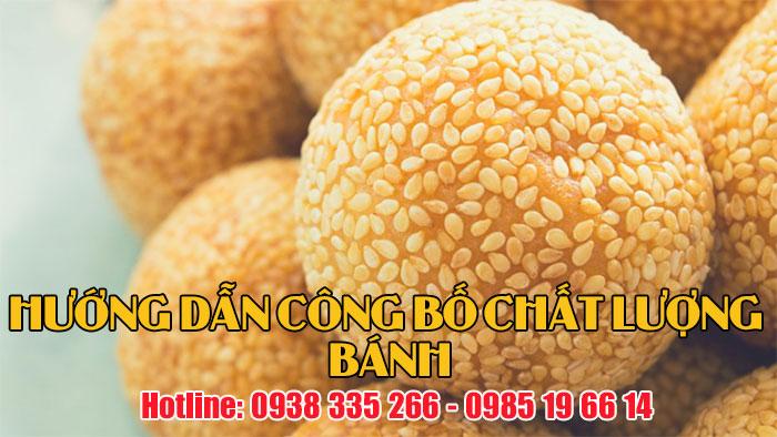 Hướng dẫn công bố chất lượng các loại bánh từ bột mì (Ảnh VinaUCare)