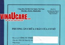 Phương án chữa cháy cơ sở - phần quan trọng trong hồ sơ quản lý về PCCC (Ảnh: VNU)