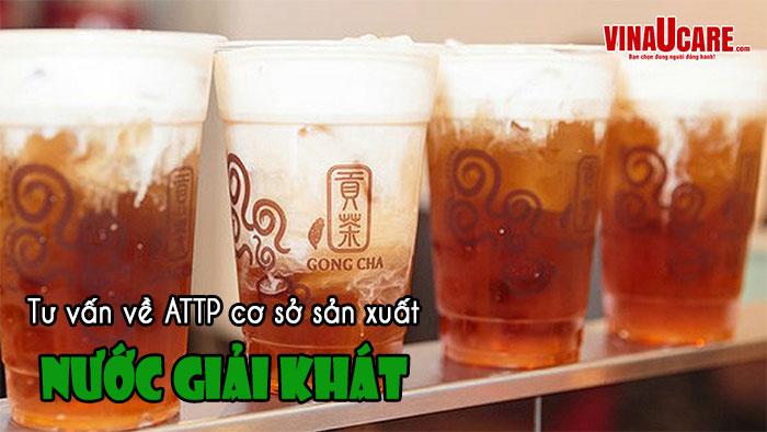 Sản xuất trà xanh, trà bí đao, sương sáo có cần giấy vệ sinh ATTP? (Ảnh VinaUCare)