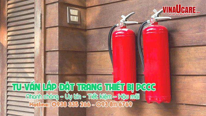 Tư vấn lắp đặt trang thiết bị phòng cháy chữa cháy PCCC (Ảnh VinaUCare)