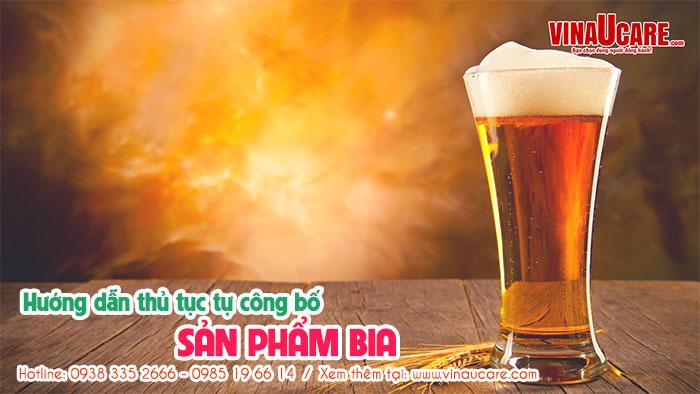 Thủ tục tự công bố chất lượng sản phẩm bia nhanh chóng (Ảnh VinaUCare)