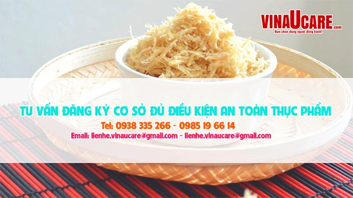 Thủ tục cấp giấy phép vệ sinh cho cơ sở sản xuất chà bông nấm (Ảnh VinaUCare)
