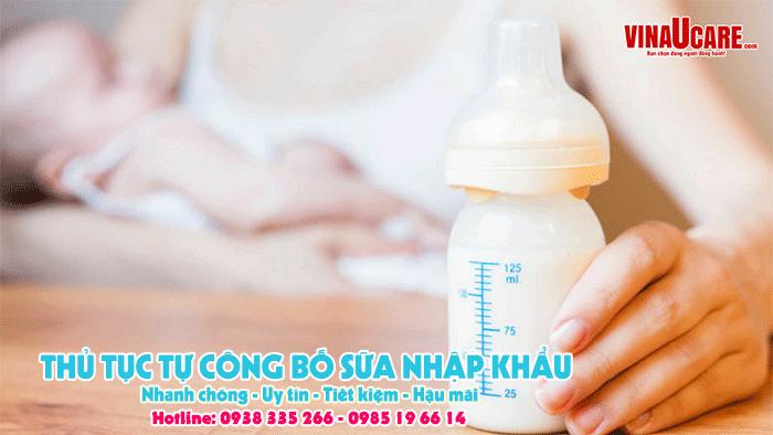 Công bố sản phẩm dinh dưỡng dùng cho trẻ dưới 36 tháng tuổi (Ảnh VinaUCare)