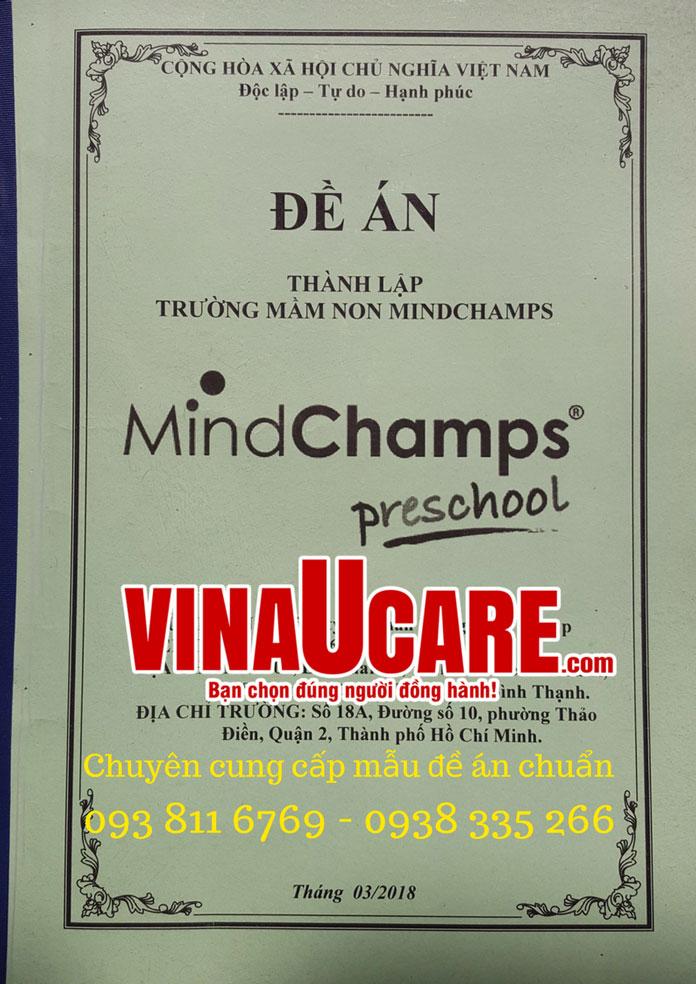 Mẫu đề án tại Vinaucare (1)