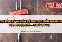 Đăng ký giấy phép vệ sinh an toàn thực phẩm cho quán nướng BBQ