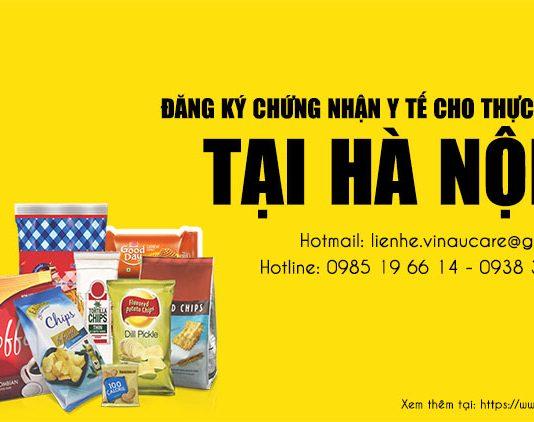 Đăng ký chứng nhận y tế sản phẩm thực phẩm xuất khẩu tại Hà Nội