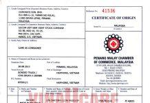 Hướng dẫn thủ tục đăng ký chứng nhận xuất xứ C/O hàng xuất khẩu