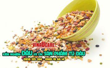 Kiểm nghiệm đậu ngũ cốc và các sản phẩm đậu: Đậu đen, đậu đỏ, đậu ván