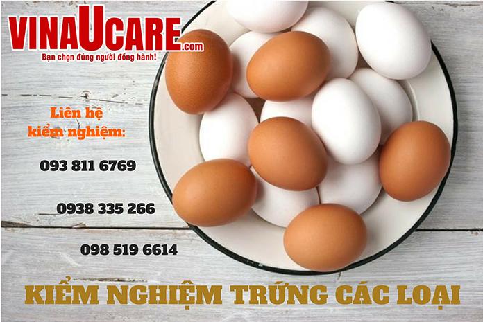 VinaUcare chuyên dịch vụ kiểm nghiệm trứng (Ảnh: VNU)