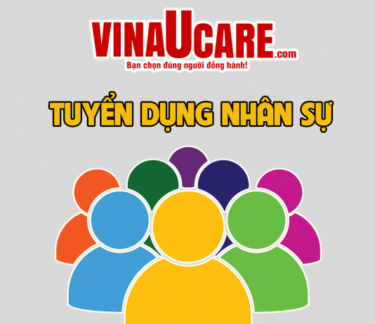 Vinaucare tuyển dụng 2019 (Ảnh: VNU)