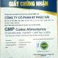 Cấp chứng nhận GMP uy tín