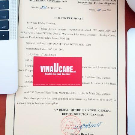 Đăng ký chứng nhận y tế