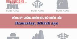 Đăng ký chứng nhận bảo hộ nhãn hiệu homestay khách sạn