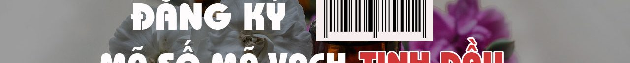 Đăng ký mã số mã vạch cho sản phẩm tinh dầu