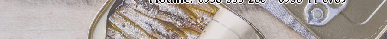 Giấy chứng nhận vệ sinh ATTP cơ sở sản xuất cá hộp