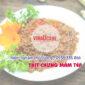 Kiểm nghiệm chất lượng Thịt chưng mắm tép