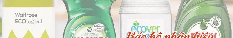 Bảo hộ nhãn hiệu nước rửa chén