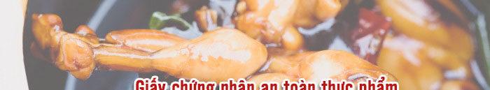 Giấy chứng nhận an toàn thực phẩm quán cháo ếch Singapore