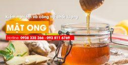 Kiểm nghiệm mật ong là cơ sở để đánh giá chất lượng mật ong, giúp người tiêu dùng an tâm hơn về chất lượng mật ong. Hotline: 0938 335 266